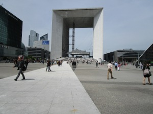 The Arch at La Defence