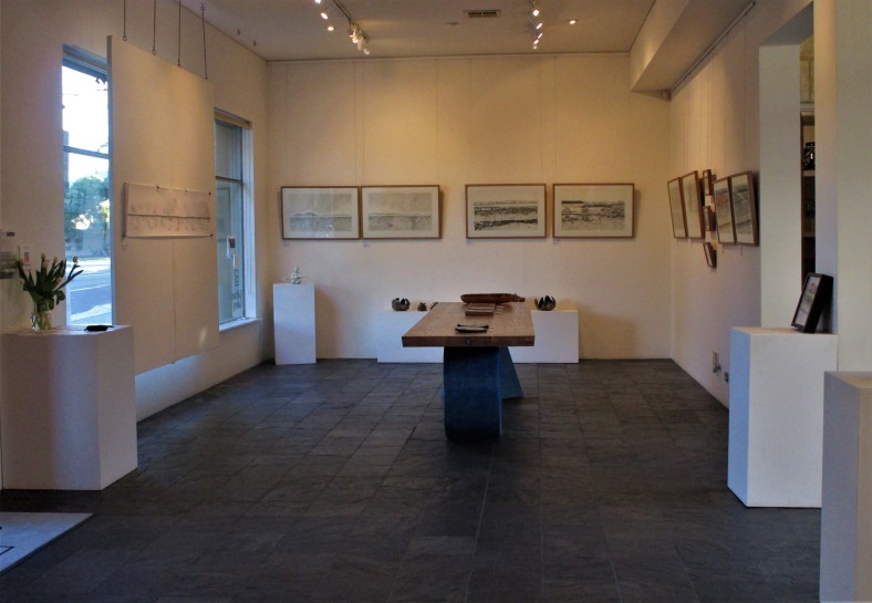 view of Gallows Gallery 2019