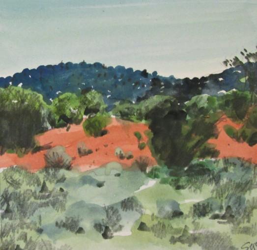 red sandhill